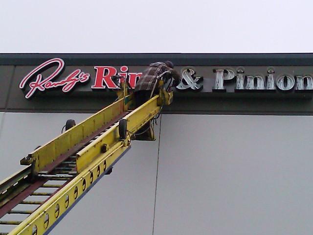 Sign Repair